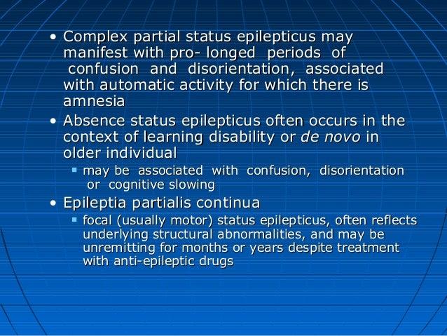 focal motor status epilepticus impremedianet