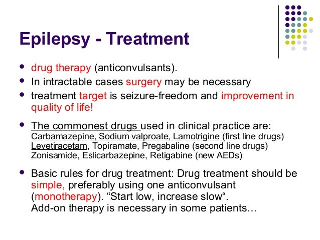 Types of Treatment/Interventions