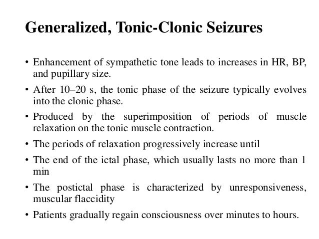 What is a tonic-clonic seizure?