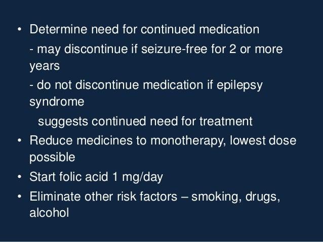 Epilepsy and pregnancy