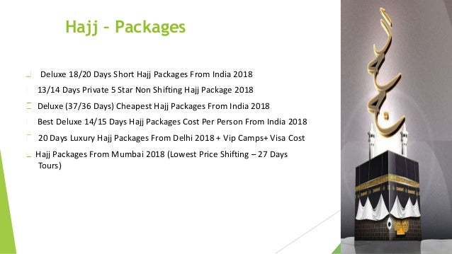 Epilgrim Special Hajj Packages 2018 will begin in the evening of Sun…