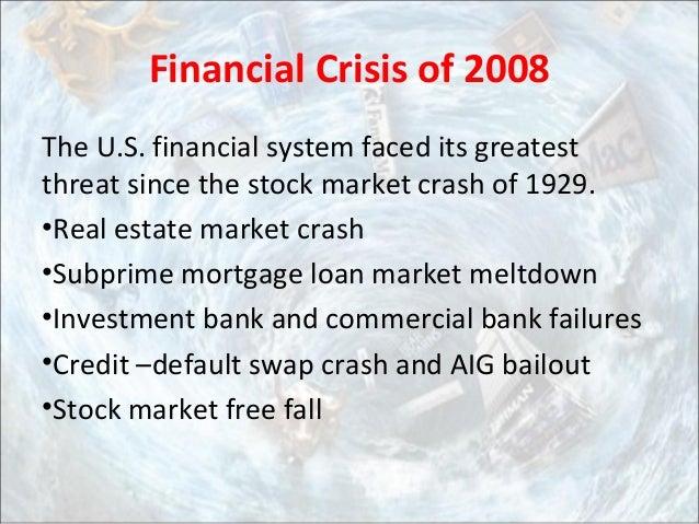 Epilogue: Financial Crisis of 2008