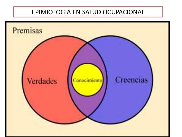 EPIMIOLOGIA EN SALUD OCUPACIONAL