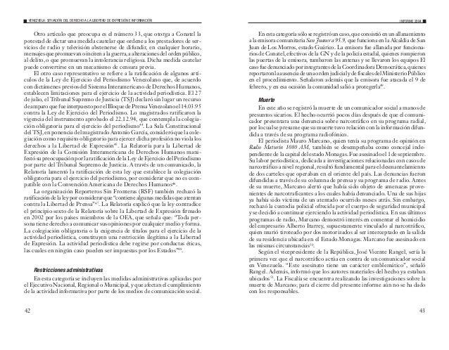 45 29 Últimas Noticias, 14.05.04, pág. 19; y El Nacional, 14.05, pág. A-5 30 El Universal, 22.07.04, pág. 1-9 31 El Univer...