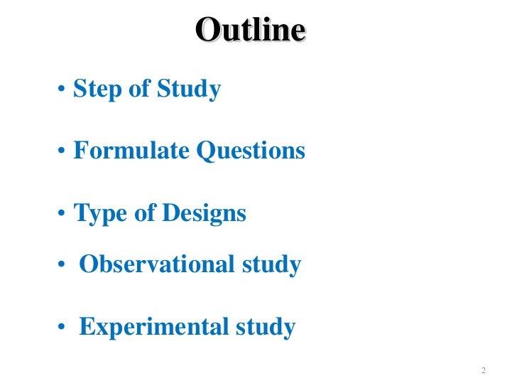 Study Designs in Epidemiologic Research - Winona