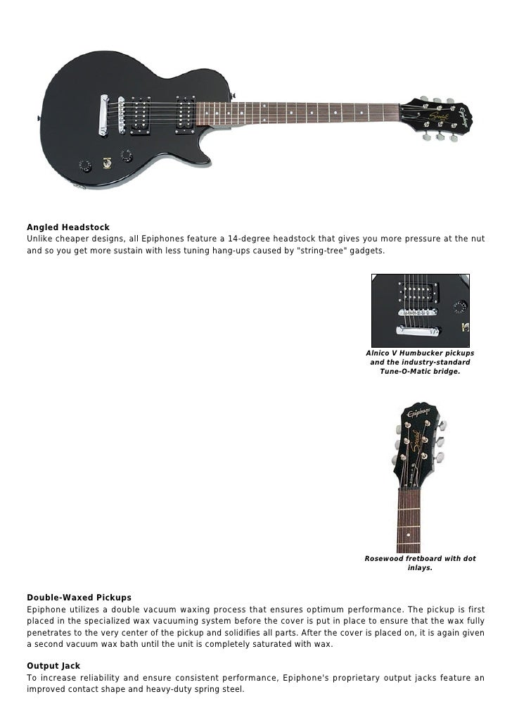 Epiphone lp special ii les paul electric guitar, ebony
