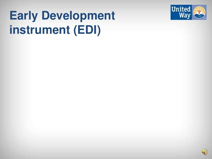 Early Developmentinstrument (EDI)