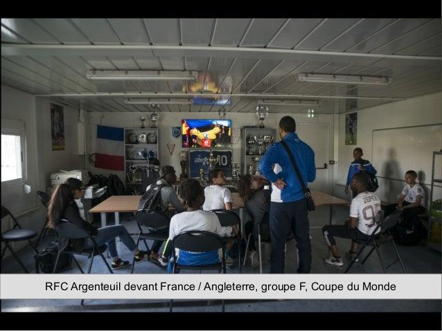 RFC Argenteuil devant France / Angleterre, groupe F, Coupe du Monde
