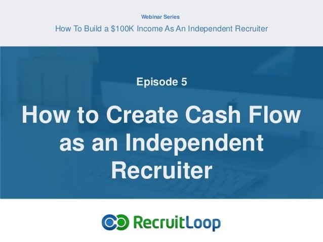 how to create enough cashflow