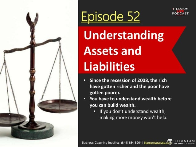Episode 52 • Since the recession of 2008, the rich have gotten richer and the poor have gotten poorer. • You have to under...