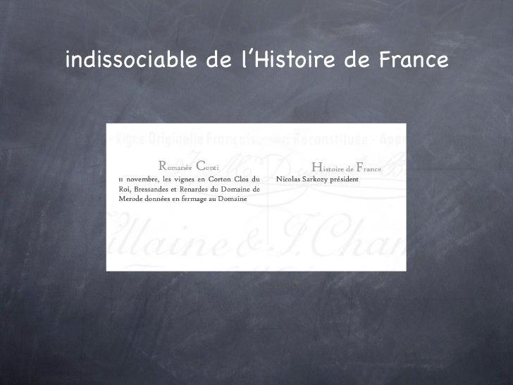 indissociable de l'Histoire de France