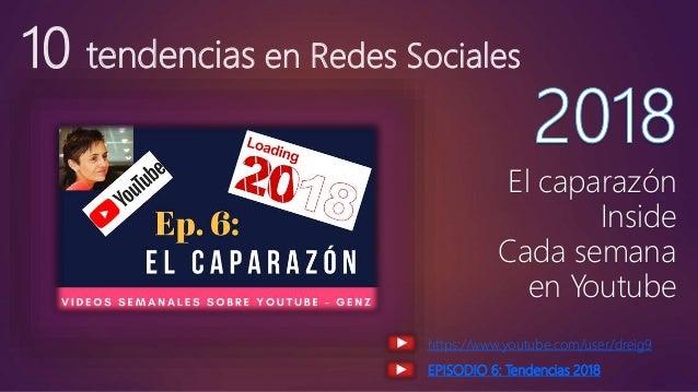 10 tendencias en Redes Sociales El caparazón Inside Cada semana en Youtube https://www.youtube.com/user/dreig9 EPISODIO 6:...