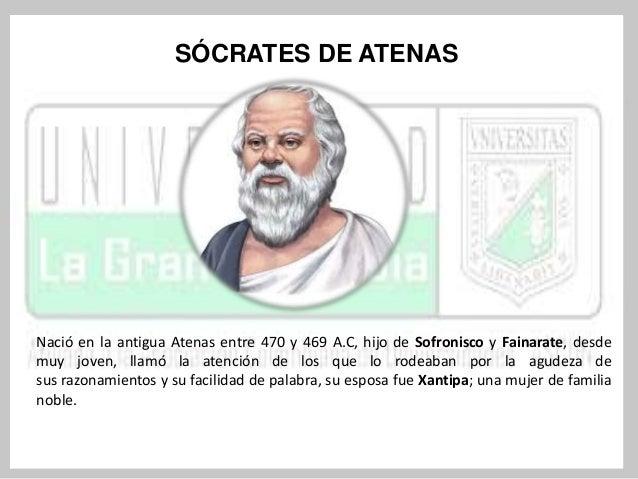 Sócrates no escribió ninguna obra porque creía que cada uno debía desarrollar sus propias  ideas. Conocemos en parte sus i...