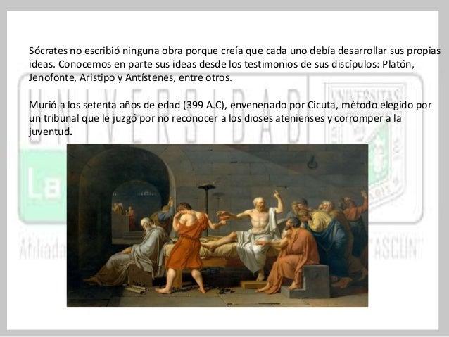 Sócrates era un filósofo dogmático a nivel ético y epistemológico.  DOGMATISMO ÉTICO  Teoría que defiende la existencia de...