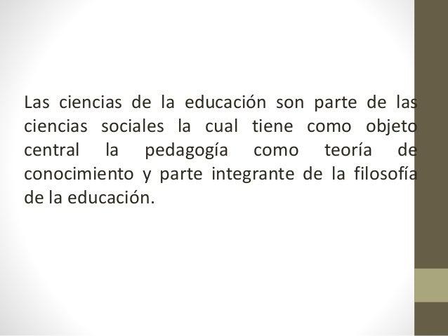 Epistemología de la educación Definición y conceptor Slide 2
