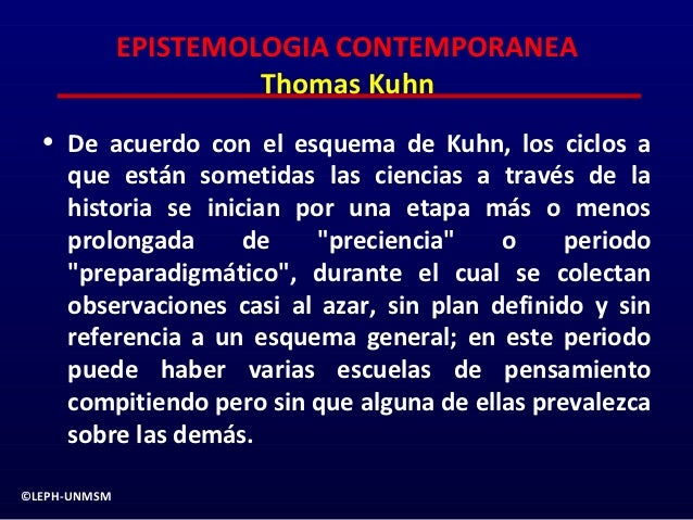 Epistemologia contemporanea 2 for Definicion de contemporanea