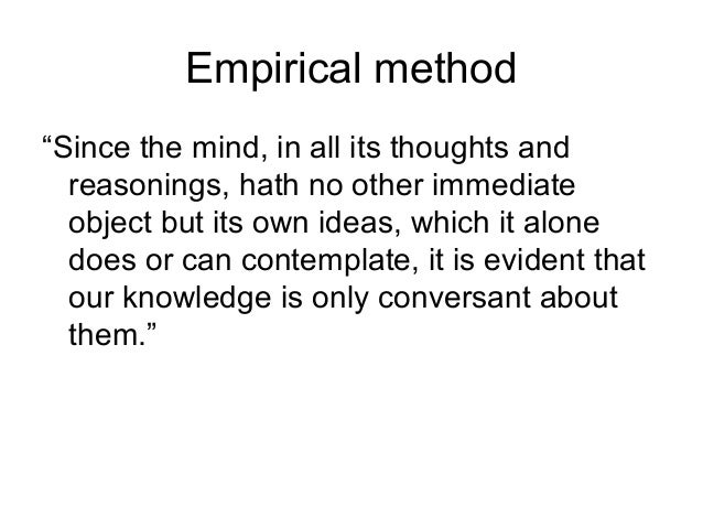 """an arguement of lockes ideas are the foundation for perceptual knowledge Sense-perception—the awareness or apprehension of things by sight, hearing,   as with the argument from illusion, the basic idea behind the argument   theorising on such shaky empirical and introspective foundations  """"quality"""" is  used synonymously with """"property"""" thus locke's primary qualities."""