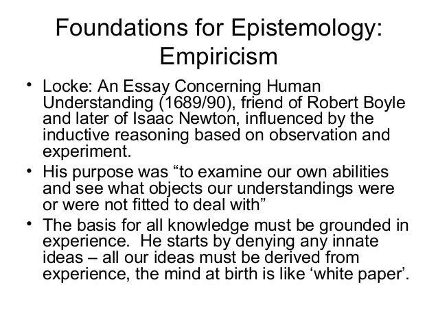 epistemology of positivism and post positivism 9 foundations for epistemology