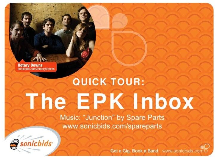 EPK Inbox Tour