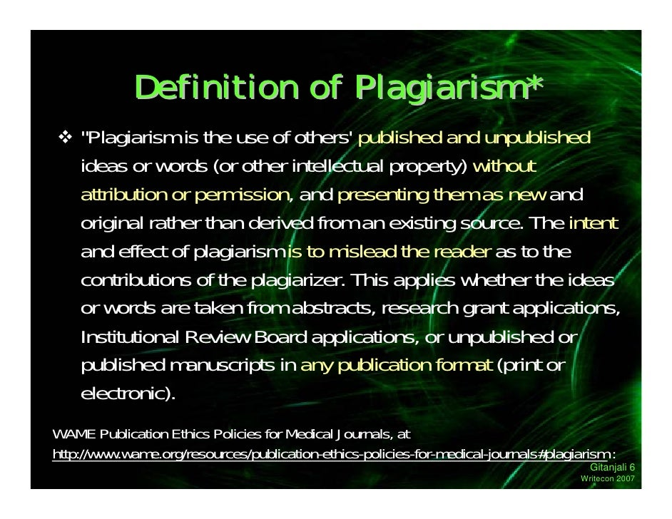 defining plagiarism Defining cheating and plagiarism this document is an expansion of the information found in the apa manual (apa, 2009) and the kent state university official policy register (kent state university, nd.