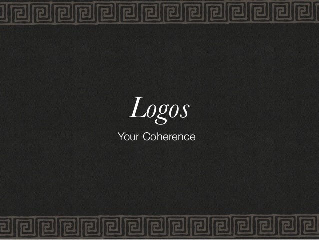 Logos Your Coherence