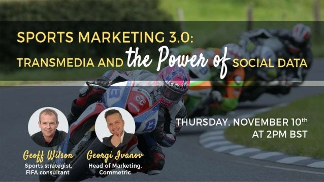 AAgenda Ulster Grand Prix – case studyPANEL 1: PANEL 2: Social Media Analytics in Sports Marketing Q&A Session