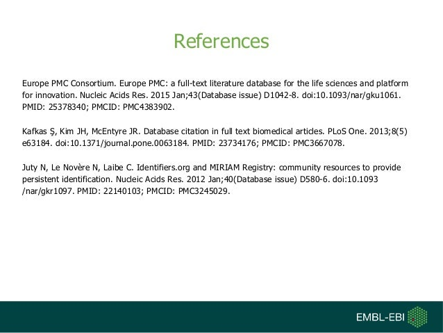 Europe PubMed Central and Linked Data