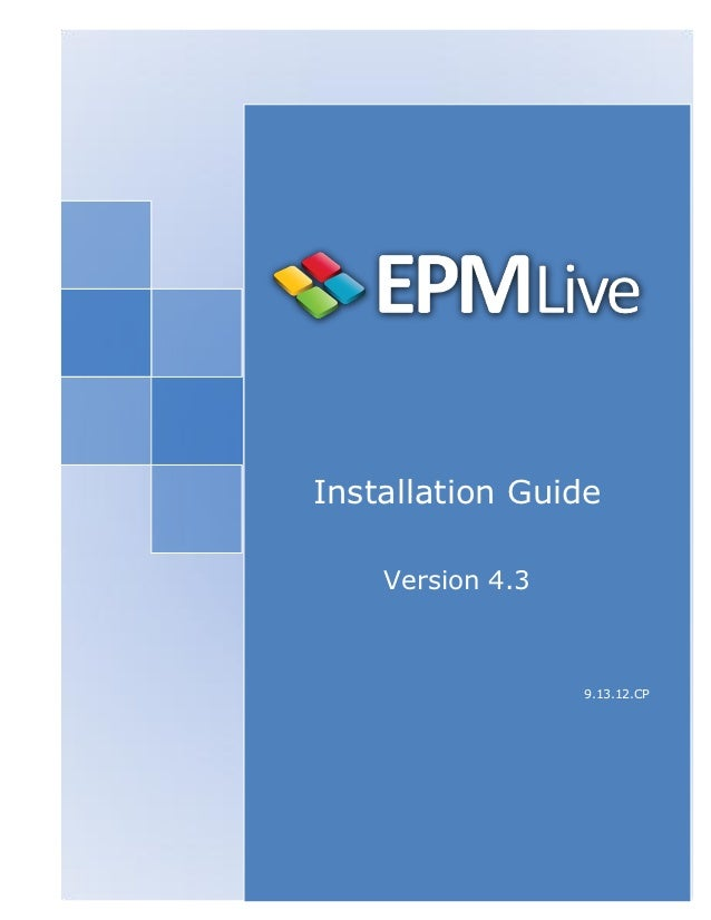 Installation Guide    Version 4.3                                           9.13.12.CP    PortfolioEngine™   Table of Cont...
