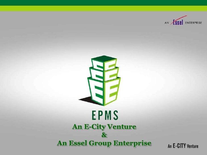 An E-City Venture            &An Essel Group Enterprise