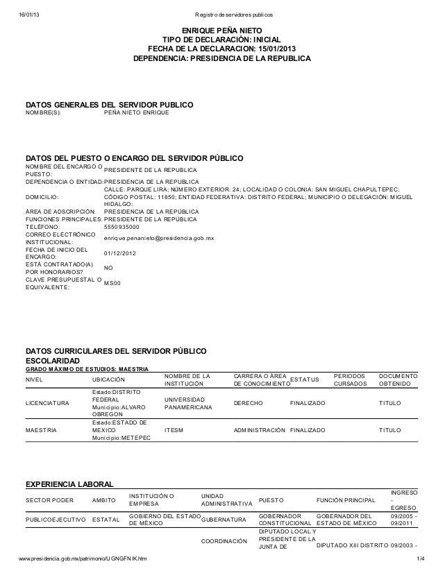 16/01/13                                                 Registro de servidores publicos                                  ...