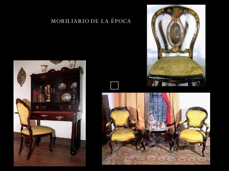 Epoca colonial for Epoca muebles