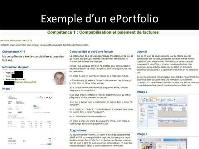 exemple de portfolio ox64