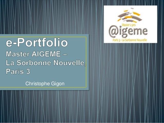 Christophe Gigon