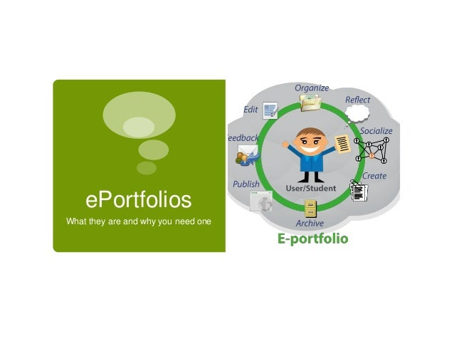ePortfolios What they are and why you need one