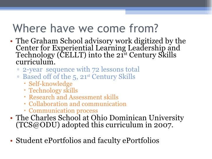ePortfolio Presentation.Student Success Assessment Summit 06232009 Ingman Slide 3