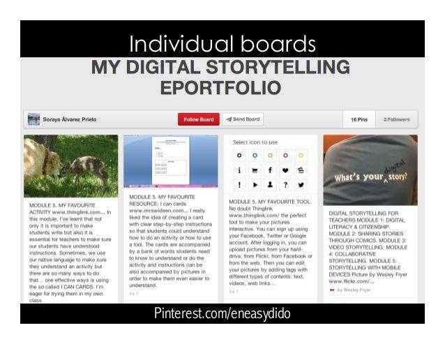 Pinterest.com/eneasydido Individual boards