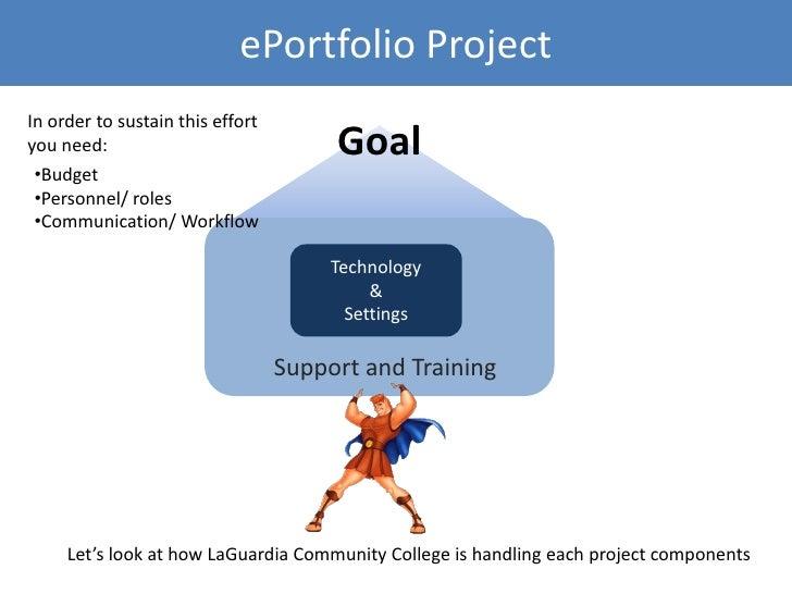 ePortfolio and Platform Selection