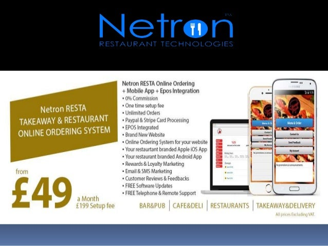 Why Netron EPOS? Netron EPOS develops and provides comprehensive restaurant and food service management technologies that ...