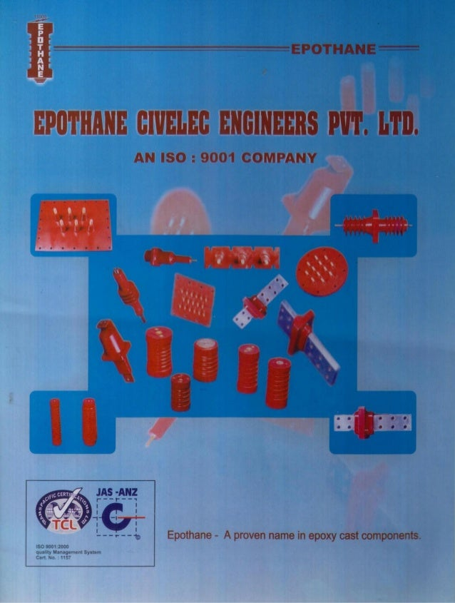 _IllII  llll. ..r+; ;L-Ll: -.. l  VYIIY  Epothane Civelec Engineers Private Limited  A prairen name in Epoxy Cast componen...