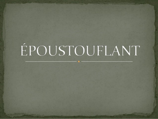 Epoustoufflant !!!