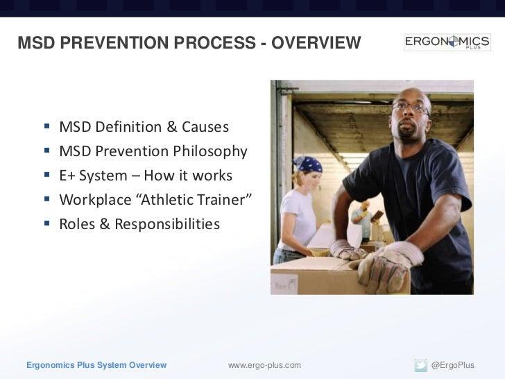 MSD Prevention Manual