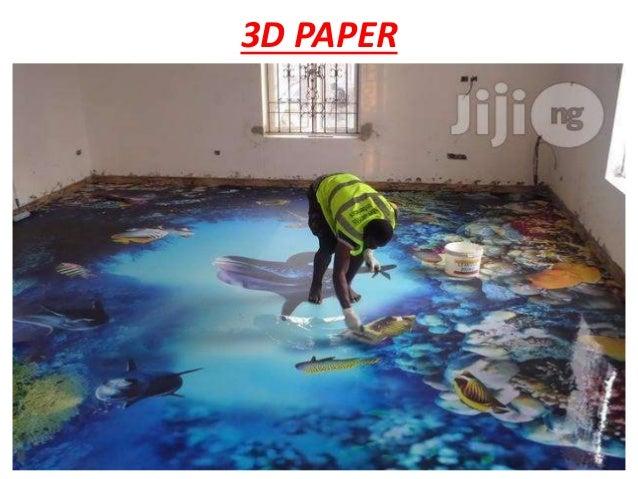 Epoxy 3d Flooring Ppt