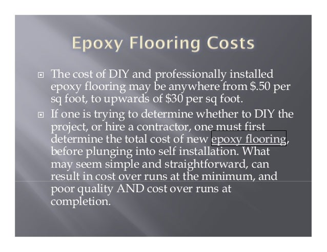 epoxy floor cost per square foot – gurus floor