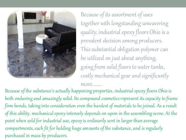 Epoxy Flooring Solution Company Ohio  Slide 2