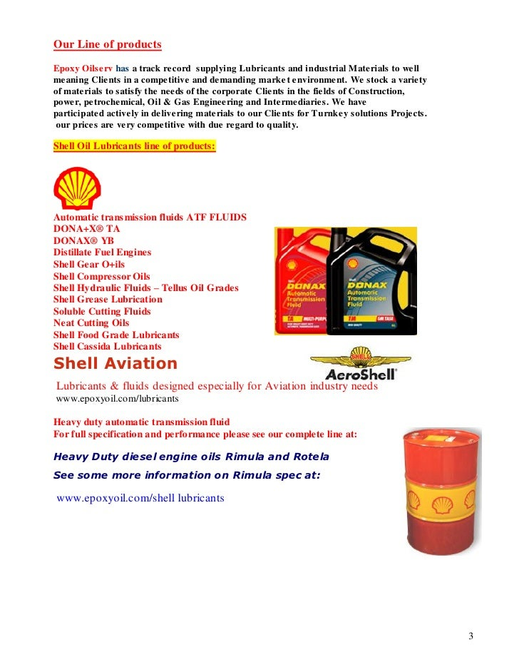 Epoxy oilserv ltd shell lubricant distributor profile
