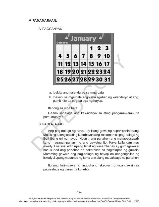 K TO 12 GRADE 4 TEACHER'S GUIDE IN EPP (Q1-Q4)