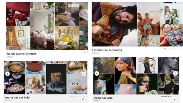 O comportamento do pinador - Pinterest