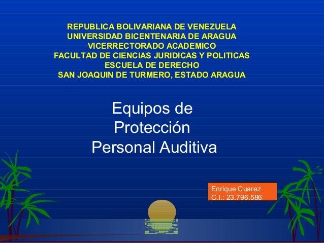 Enrique Cuarez C.I.: 23.796.586 REPUBLICA BOLIVARIANA DE VENEZUELA UNIVERSIDAD BICENTENARIA DE ARAGUA VICERRECTORADO ACADE...