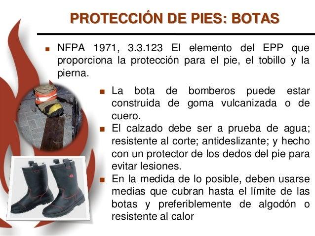EPP de Bomberos Actualización 2016 1301c22c2c95e