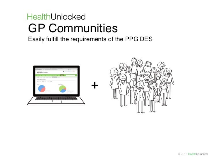 GP CommunitiesEasily fulfill the requirements of the PPG DES                      +                                        ...